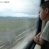 8/23 西寧からウルムチへ、寝台列車の車窓から
