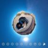 【360度ドライブ風景】ニューメキシコ 自然の岩と青い空 #360pic