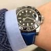 腕時計のベルト交換の楽しみ方を時計選びのプロが紹介【ROLEX GMTマスターⅡ Ref.116710LN×青革ベルト】