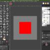 GIMP Python-fu で矩形描画