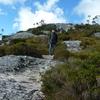 タスマニア 一味違うオーストラリア いたるところが絶景地 随一クレイドルマウンテン6 登山