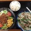 美味鮮の冷やし坦々麺+ニラレバー