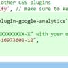「Gatsby JS」google-analyticsのプラグインを追加する