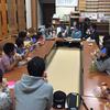 西教寺住職と一緒にボランティア学習シープハウス開始