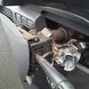調布市からカギの無い車検切れ故障車をレッカー車で廃車の引き取りしました。