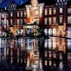 【写真】雨上がりの東京駅