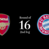 (27)CL Round16 2nd leg Bayern vs Arsenal