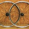 R390リム(451サイズ)とTiagraハブで手組みホイール