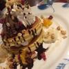 デニーズが優しい!!!誕生日月に来店するとこんな豪華なデザートを!!!
