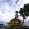 巨大仏像ブッダ・ポイントとブータン松茸@ブータン