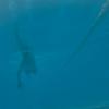 アクションカムでプール水中撮影