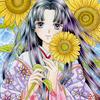 「夏恋姫」色鉛筆&鉛筆オリジナル平安イラスト:色鉛筆ユーザーが増えてほしい