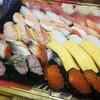 誕生日なので、今夜ははま寿司の持ち帰りずし!
