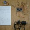 踏切遮断機の回路試作