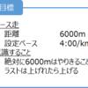 2017/05/15 6000mペース走(1)