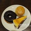 スターバックス・スイーツ「チョコレートクリームドーナツ」「バターミルクビスケット」「ニューヨークチーズケーキ」&スシロー「チーズケーキ」