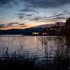 片山津温泉 早朝フォトウォーク 柴山潟と足湯からの…