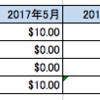 2017年5月~2017年7月のアセット売上