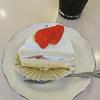 苺のショートケーキ@洋菓子 喫茶ボンガトウ
