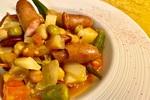 【簡単レシピ】「オクラと長芋のねばねばチリコンカン」の作り方