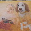 ハオちゃんと赤ちゃんの肖像画7