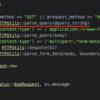 WEBrickでHTTPリクエストにマルチバイト文字列が入っていた場合の挙動について