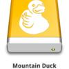 GCSクライアントとしてMountain Duckを試す