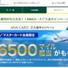 ANA VISAカードのキャンペーンはどのように利用すべきか??