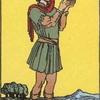 タロットカード:小アルカナ ペンタクルのペイジ