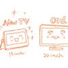 TVの買い換えは、リサイクル料とセット!?