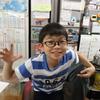 海の日の今日、九龍は朝から早稲アカの夏期講習に行き、その後は妻と一緒に小学校のお友達の家に遊びに行きました。