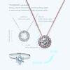 リフォームで美しくよみがえるダイヤのネックレス。