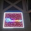 JR京都駅のクリスマスイルミネーション