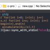 X-codeで競プロテンプレートを読み込む設定