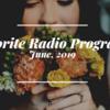 ラジオ録音サーバの予約状況(2019年6月版)