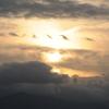 夕暮れ景色~その91『雲に埋もれる如く』
