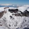 富士山登山~その3:新雪期の山頂に立った