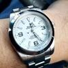 今日の時計(ホワイトアウト)