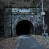『旧伊勢神トンネル』に映り込んだ人達。