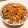 ミンチ無し!大根と椎茸で作る生姜多めの麻婆大根&さつまいもで作る甘酢炒め。