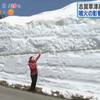 開通が危ぶまれた『志賀草津高原ルート』が開通!4mの雪の回廊が出現!!