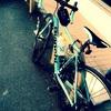 むすことサイクリング