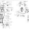 自転車擬人化メイキング(ナシーラたん) その1