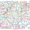 路線図:駅:街→私