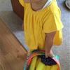 教材と娘のおもちゃ