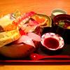 【写真複製・写真修復の専門店】海鮮丼 赤かぶりの色調修正