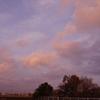 2月15日の夕陽雲&今日の独り言