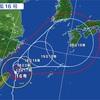 台風16号、九州接近へ 広島で4.4万人避難勧告