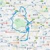 ウーバーイーツ配達、自転車にロングが配車の影響か?配達平均距離が改善。11/20-26GPSログ