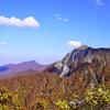 紅葉の大山に登ってきた